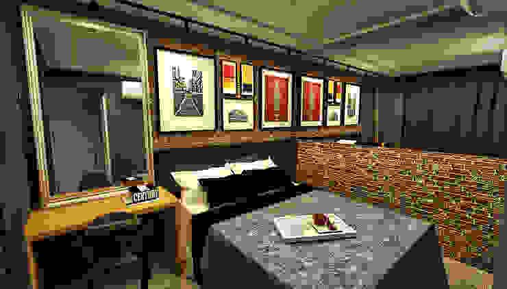 Apartamento - Res. Iluminato - Águas Claras/DF Quartos modernos por Arquitetura do Brasil Moderno