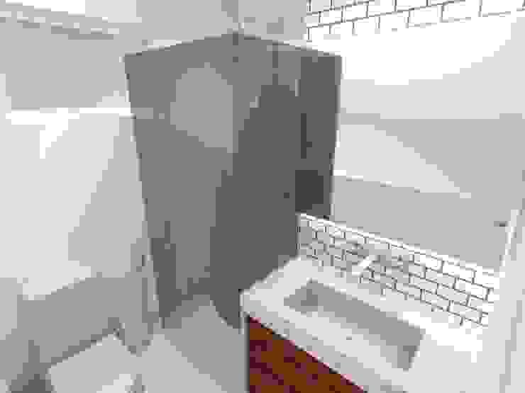 Apartamento - AOS 06 - Octogonal - Brasília/DF Banheiros modernos por Arquitetura do Brasil Moderno