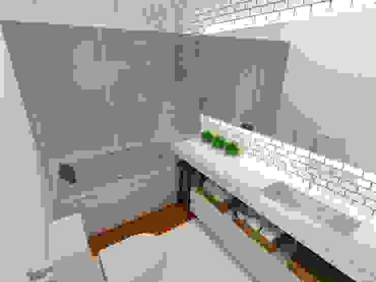 Baños de estilo moderno de Arquitetura do Brasil Moderno