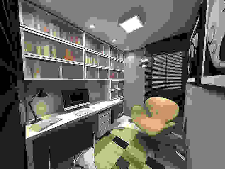 Apartamento - Horto Bela Vista - Salvador/BA Escritórios modernos por Arquitetura do Brasil Moderno