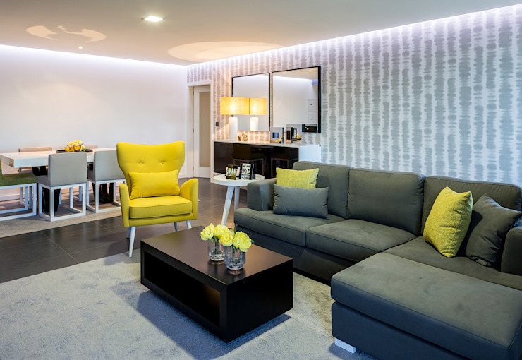 Cássia Lignéa Living roomSofas & armchairs Yellow
