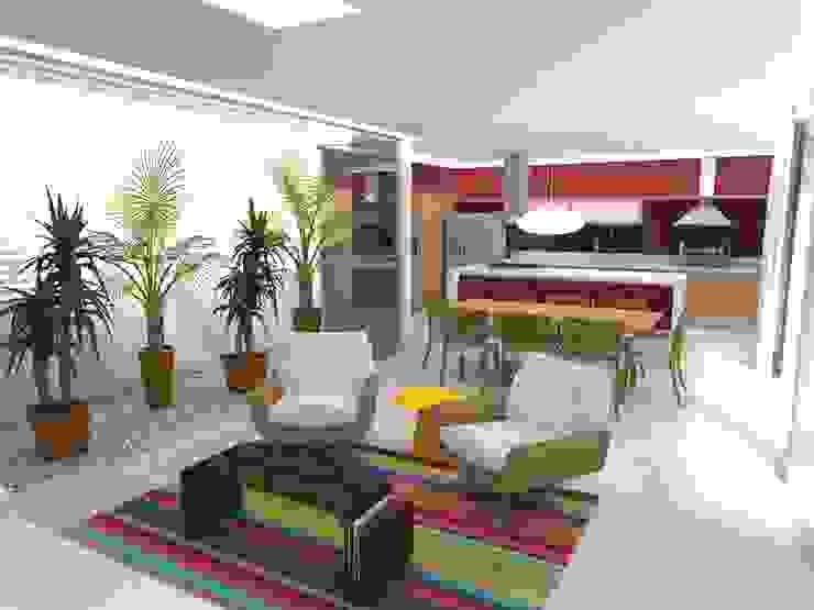 Casa - Sobradinho/DF Salas de estar modernas por Arquitetura do Brasil Moderno