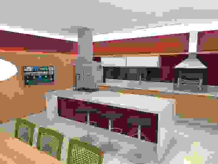 Casa - Sobradinho/DF Cozinhas modernas por Arquitetura do Brasil Moderno