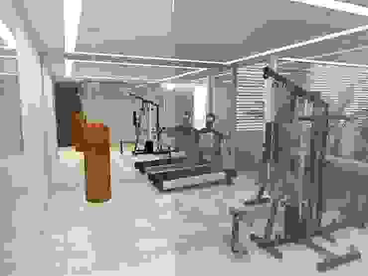 Casa - Sobradinho/DF Fitness moderno por Arquitetura do Brasil Moderno