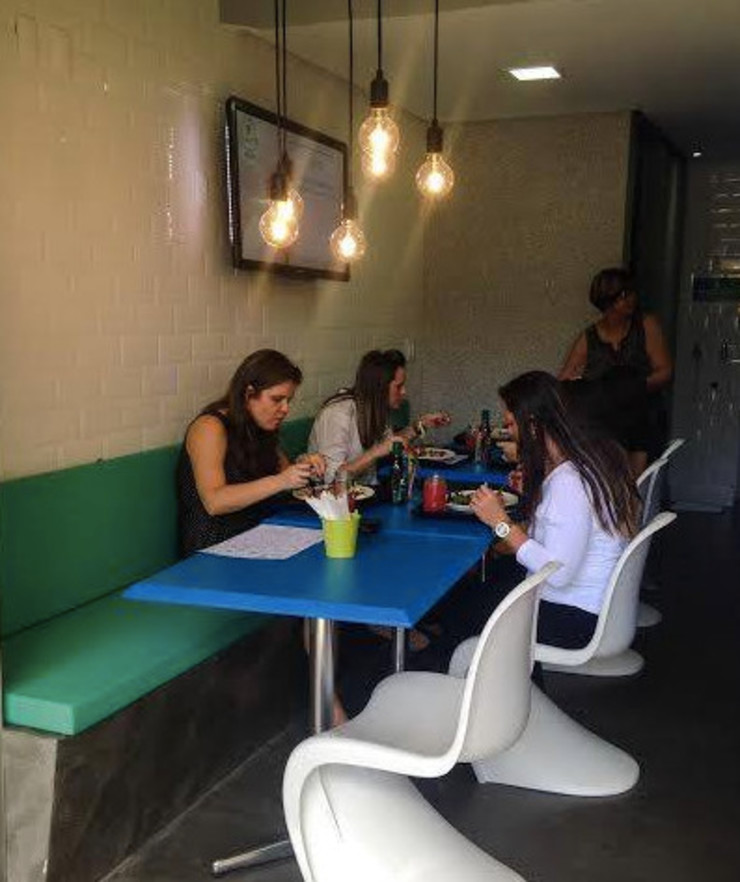 Restaurante Limonada - Águas Claras/DF Espaços gastronômicos modernos por Arquitetura do Brasil Moderno