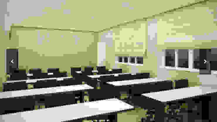Administração da Pioneer - DuPont - Brasília/DF Edifícios comerciais modernos por Arquitetura do Brasil Moderno
