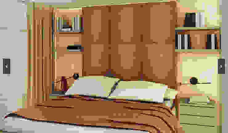 Arquitetura do Brasil Camera da letto moderna