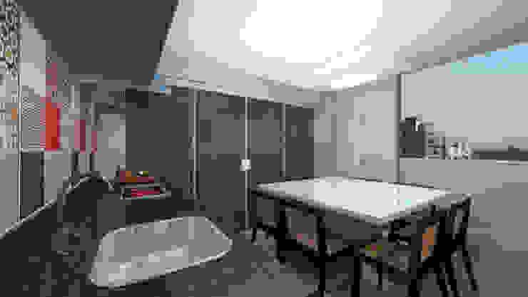 Arquitetura do Brasil Modern terrace
