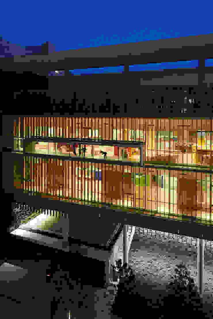 京橋こども園(東京) モダンデザインの 多目的室 の 株式会社ライティングM モダン