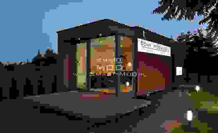 Дома в стиле модерн от Smart Mod Domy modułowe Модерн
