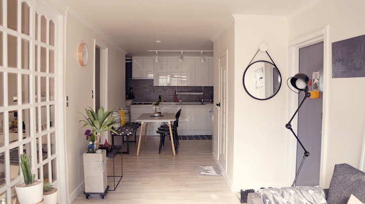 Столовая комната в скандинавском стиле от toki Скандинавский