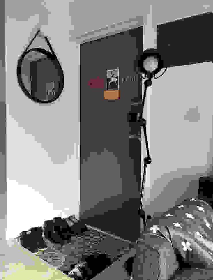 신혼집 20평대 self interior 스칸디나비아 복도, 현관 & 계단 by toki 북유럽