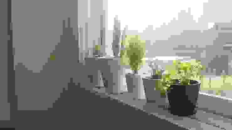 신혼집 20평대 self interior 스칸디나비아 창문 & 문 by toki 북유럽