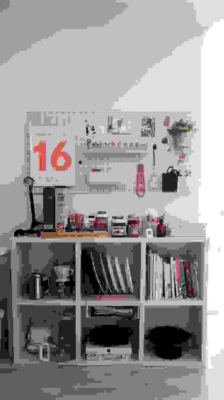 신혼집 20평대 self interior 스칸디나비아 거실 by toki 북유럽