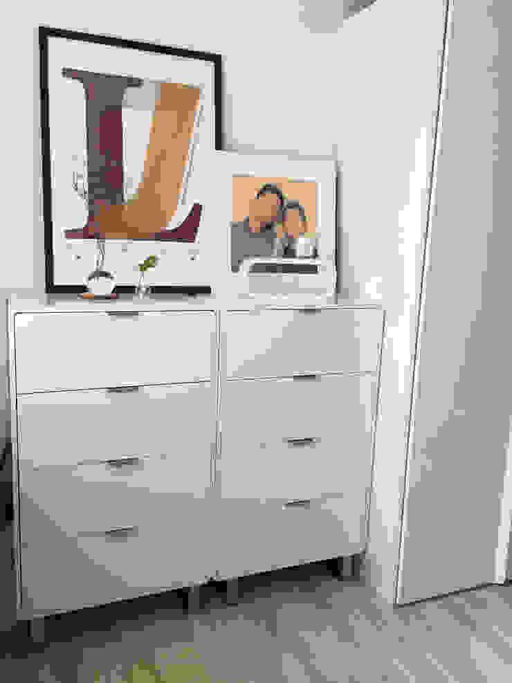 신혼집 20평대 self interior 스칸디나비아 침실 by toki 북유럽