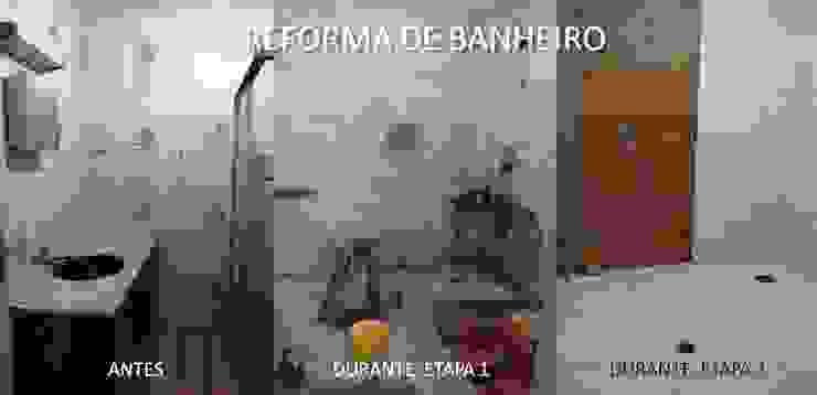 Etapas da reforma por Lúcia Vale Interiores