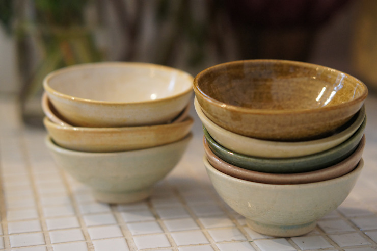 自慢のめし椀: 月下陶房が手掛けた折衷的なです。,オリジナル 陶器