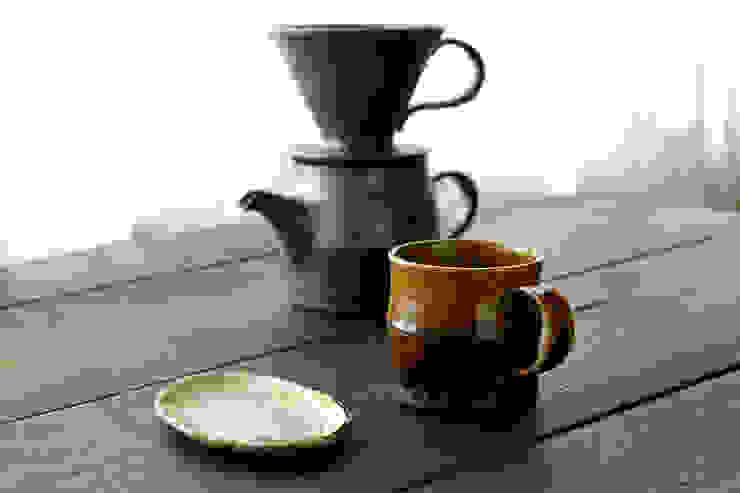 コーヒーサーバー: 河内啓が手掛けたアジア人です。,和風