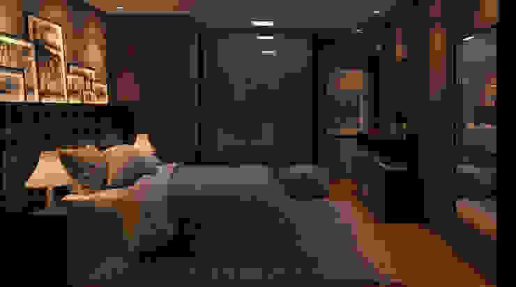 Minimalist bedroom by CASA9 Arquitetura Minimalist