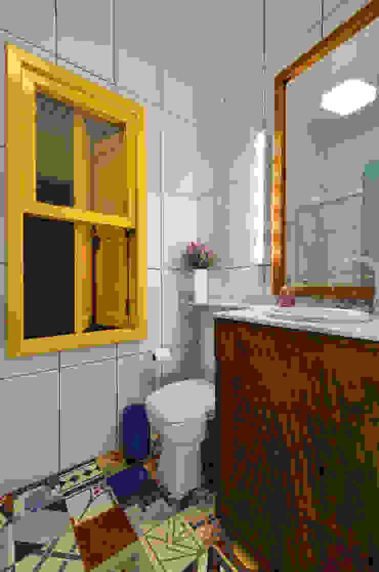 Arquitetando ideias Tropical style bathrooms