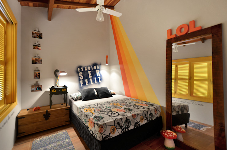 Bedroom by Arquitetando ideias, Tropical