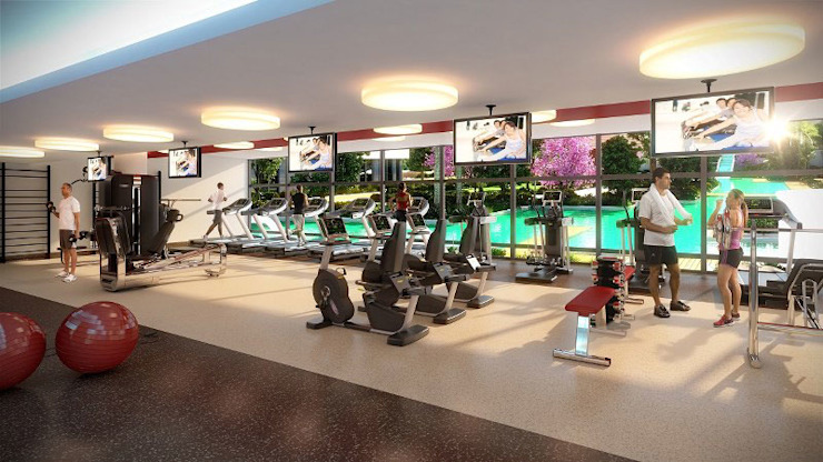 CCT 162 PROJECT NEW LAUNCHING PROJECT IN BEYLIKDUZU Modern Fitness Odası CCT INVESTMENTS Modern