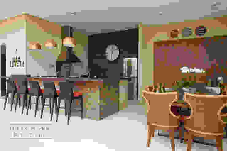 Espaço Gourmet Varandas, alpendres e terraços modernos por Nilza Alves e Rita Diniz Moderno