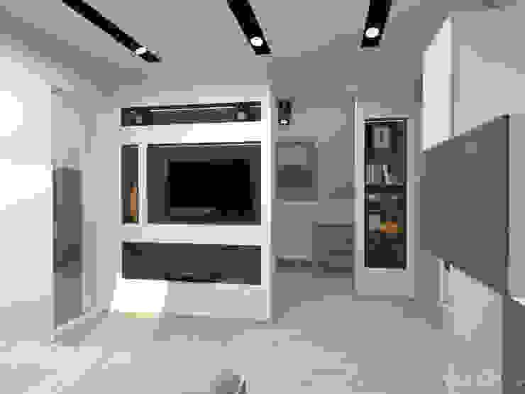 Sypialnia Nowoczesna sypialnia od in2home Nowoczesny Kompozyt drewna i tworzywa sztucznego