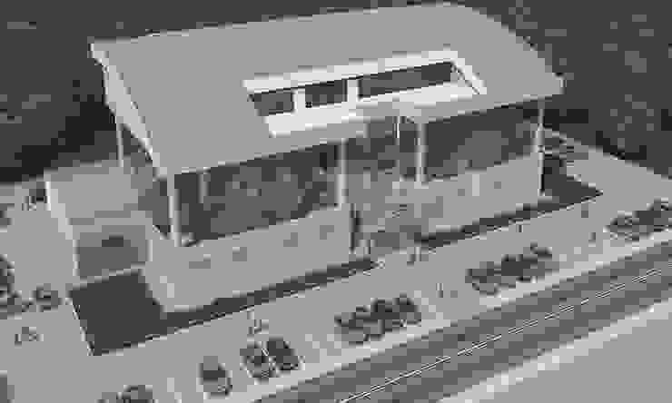 Afyon Kumanda Merkezi by Maviperi Mimarlık