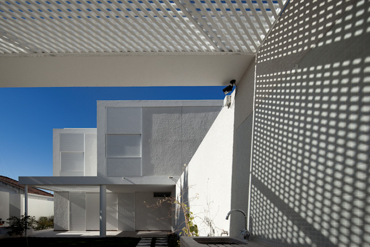 Moradias Manta Rota Casas modernas por Posto9 Arquitectos Moderno