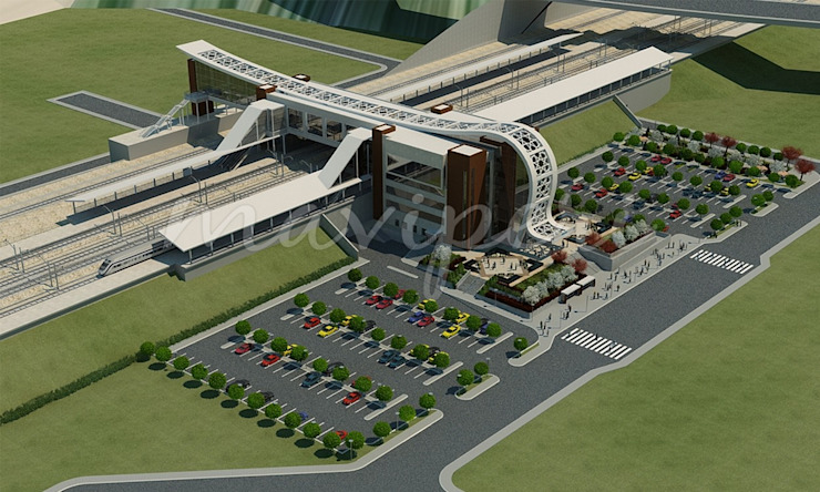 Bilecik YHT İstasyon Binası by Maviperi Mimarlık