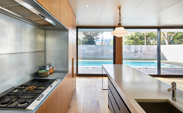 Modular Home in Berry, NSW Cocinas de estilo minimalista de Modscape Holdings Pty Ltd Minimalista
