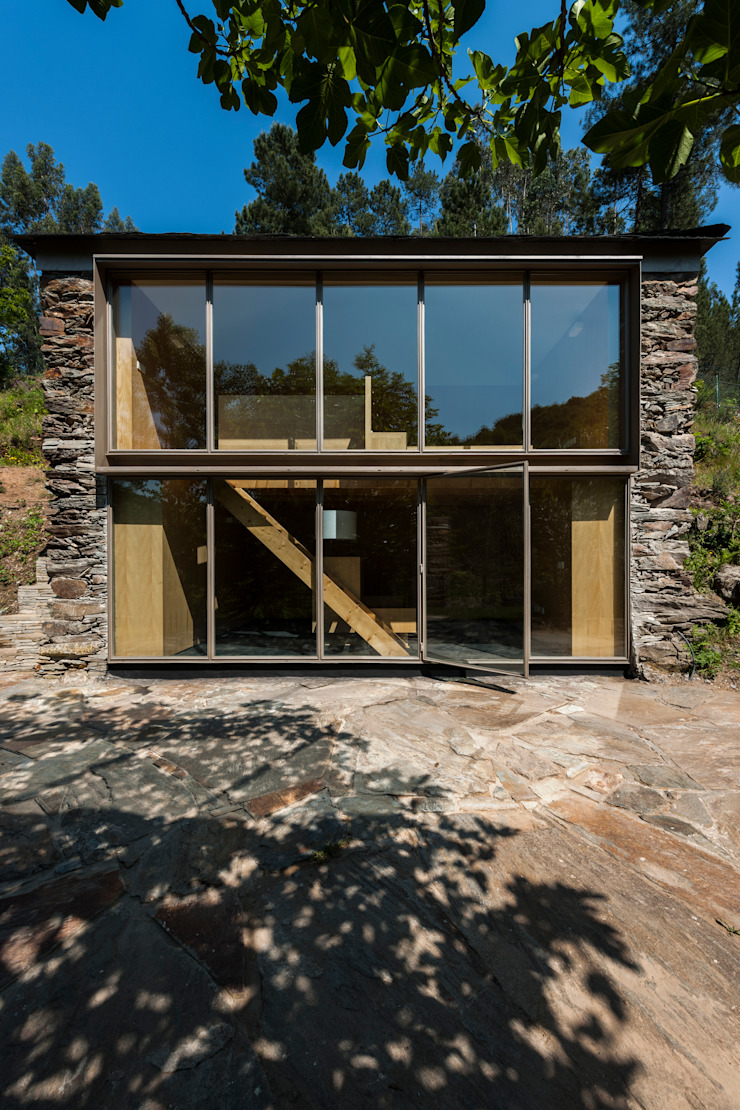 Casa em Espiunca Casas rústicas por ABPROJECTOS Rústico