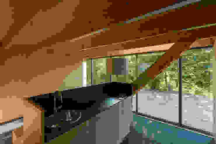 Casa em Espiunca Cozinhas rústicas por ABPROJECTOS Rústico
