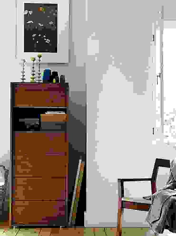 Parallel Tall Dresser de Design Within Reach Mexico Moderno Madera Acabado en madera
