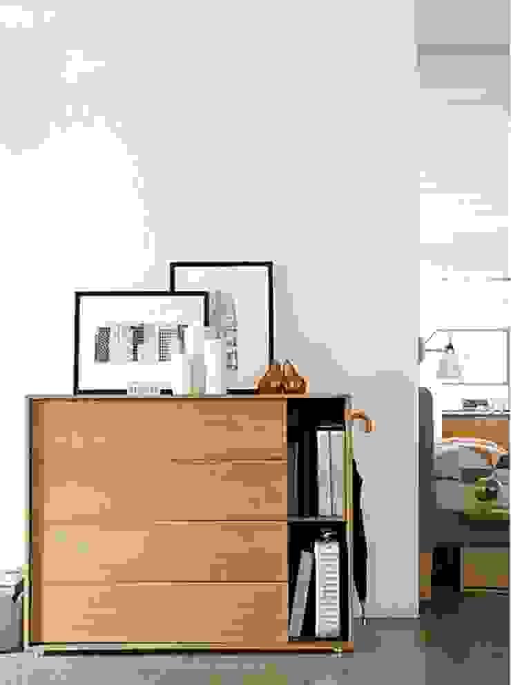 Parallel Wide Dresser de Design Within Reach Mexico Moderno Madera Acabado en madera