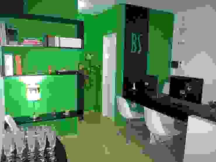 INTERIOR ESTUDIO BS ARQUITECTAS Oficinas y bibliotecas de estilo moderno de BS arquitectas - Beltramo + Scantamburlo Moderno