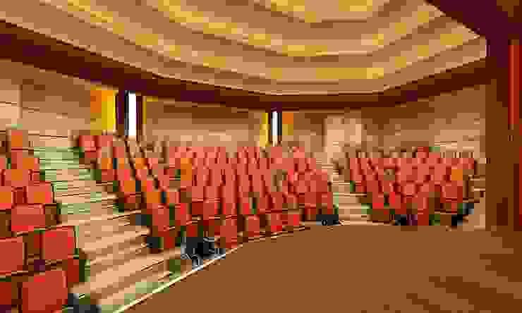 İskenderun İkem Koleji Konferans Salonu by Maviperi Mimarlık