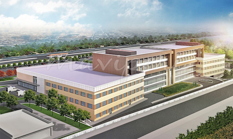 Balıkesir Burhaniye Devlet Hastanesi by Maviperi Mimarlık