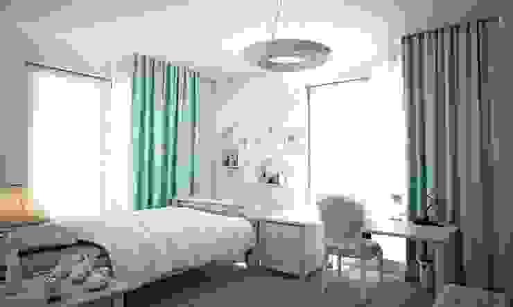 Sinpaş GYO Karaca Residence Modern nursery/kids room by Maviperi Mimarlık Modern