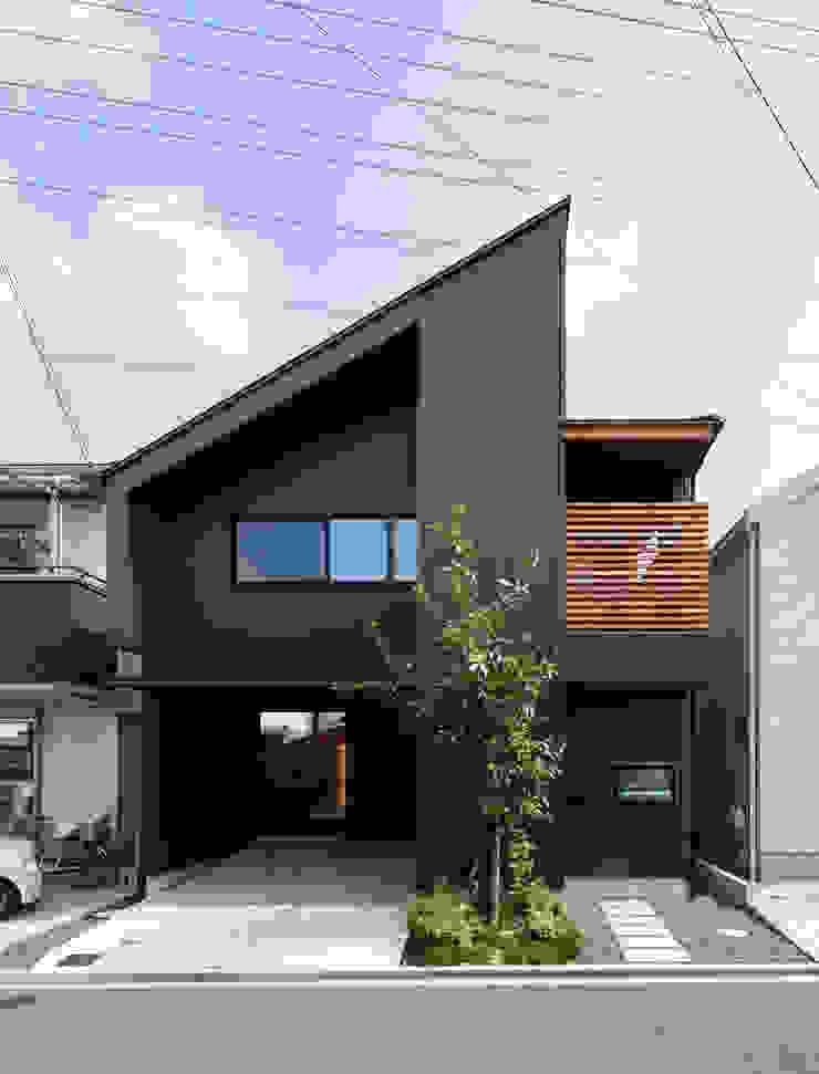 現代房屋設計點子、靈感 & 圖片 根據 藤森大作建築設計事務所 現代風