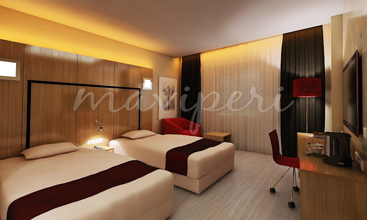 Samsun Radisson Park Inn Otel Modern hotels by Maviperi Mimarlık Modern