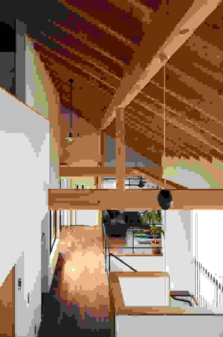 现代客厅設計點子、靈感 & 圖片 根據 藤森大作建築設計事務所 現代風