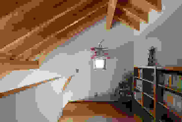 趣味スペース ロフト モダンデザインの 多目的室 の 藤森大作建築設計事務所 モダン