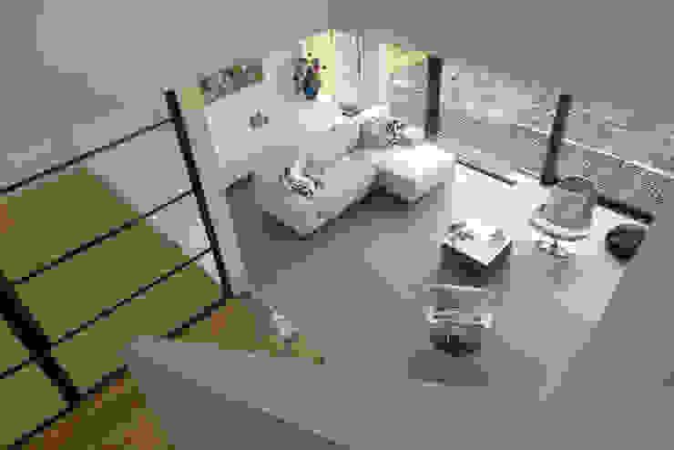 Гостиная в . Автор – Maas Architecten, Модерн