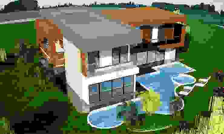 Akdemir Residence Modern houses by Maviperi Mimarlık Modern