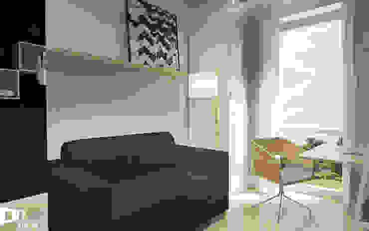 Modern study/office by TIKA DESIGN Modern