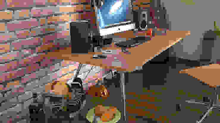 KK Creative Works – Kaya Aşçı Çalışma Masası: modern tarz , Modern