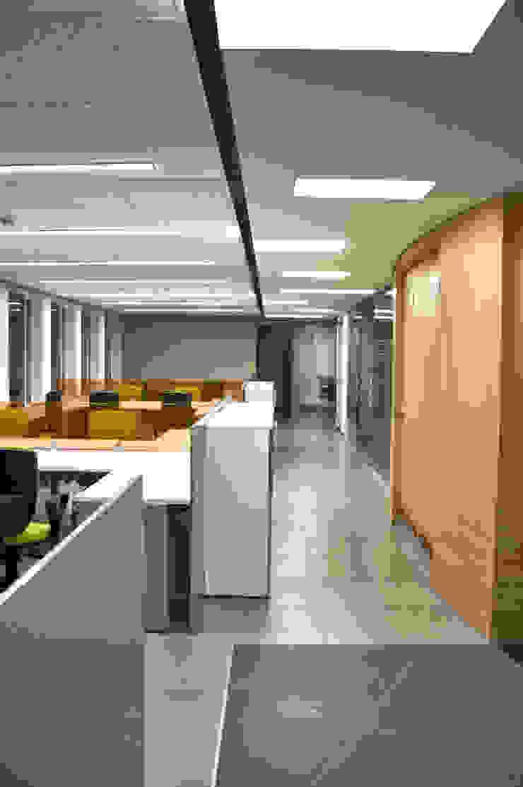 Zona de Operativos Estudios y despachos de estilo moderno de Qualittá Arquitectura Moderno Aglomerado