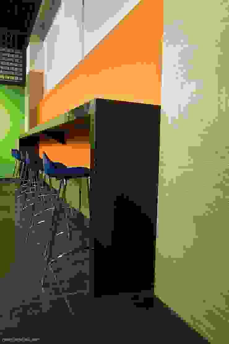 Barra Cafeteria Cocinas modernas de Qualittá Arquitectura Moderno Granito